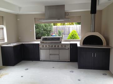 BBQ Area Joinery
